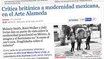 Crítica británica a modernidad mexicana, en el Arte Alameda